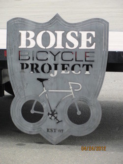 Boise Bicycle Project Sign