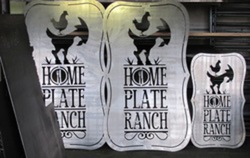 Home Plate Ranch Signs
