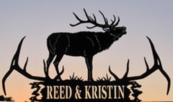Reed & Kristin Sign