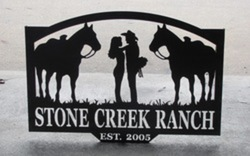 Stone Creek Ranch Sign
