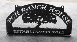 PCH Ranch House Sign