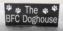 BFC Doghouse Sign