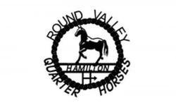 Round Valley Quarter Horses Sign