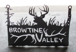 Browtine Valley Sign
