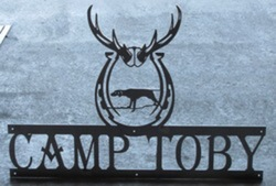 Camp Toby Sign
