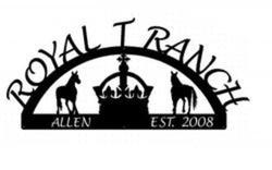 Royal T Ranch Sign
