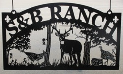 S&B Ranch Sign
