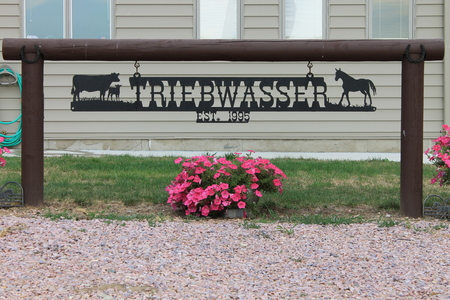 Photo Gallery | Ranch Signs, Gates, and Custom Metal Art by Big