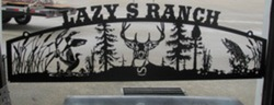 Lazy S Ranch Sign