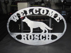 Rosch Welcome Sign