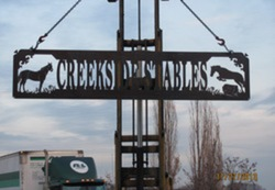 Creekside Stables Sign