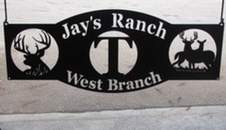 Jays Ranch Sign