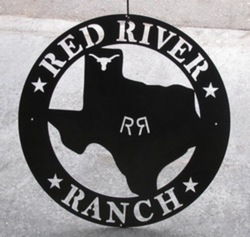 Red River Ranch Sign