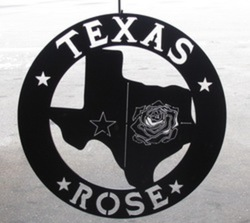 Texas Rose Sign
