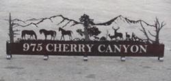 Cherry Canyon Sign