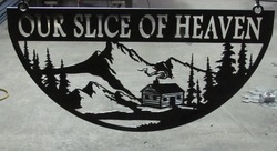 Our Slice of Heaven Sign