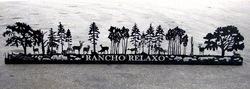 Rancho Relaxo Sign