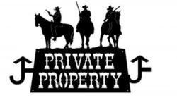 Private Property Brand Sign