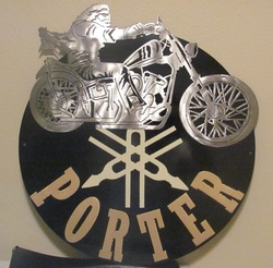 Porter Motorcycle Sign