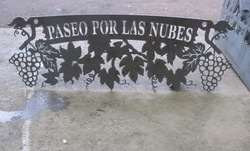 Paseo Winery Sign