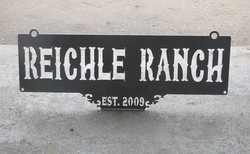 Reichle Ranch Sign