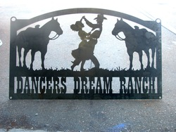 Dancers Dream Ranch Sign