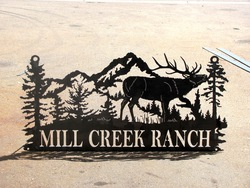 Mill Creek Ranch Sign