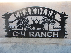 Chandler C4 Ranch Sign