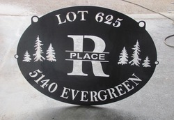 R Place Sign