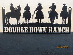 Double Down Ranch Sign