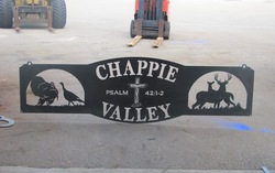 Chappie Valley Sign