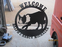 Welcome Ralph and Nancy Sign