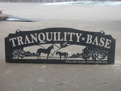 Tranquility Base Sign