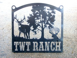 TWT Ranch Sign