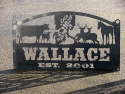 Wallace Sign