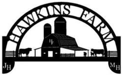 Hawkins Farm Sign