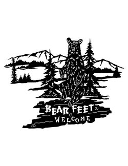 Bear Feet Welcome