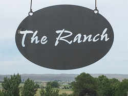 The Ranch Sign Oval