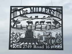 The Millers Sign