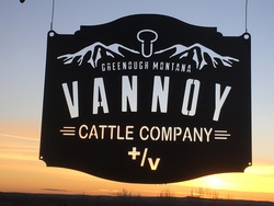Vannoy Cattle Company Sign
