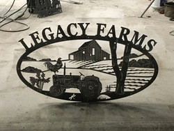Legacy Farms Sign