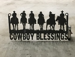 Cowboy Blessings Sign