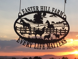 Easter Hill Farm Sign