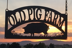 Old Pig Farm Sign