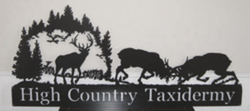High Country Taxidermy Sign