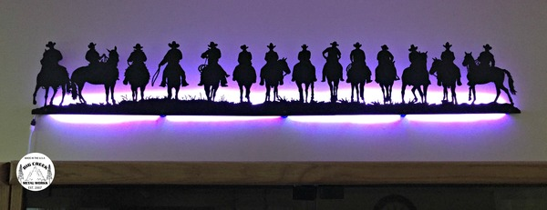14 cowboys with LED's