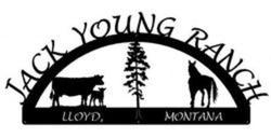 Jack Young Ranch Sign