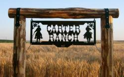 Carter Ranch Sign