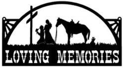 Loving Memories Sign