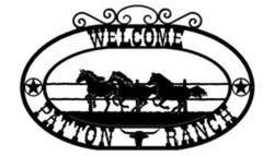 Welcome Patton Ranch Sign